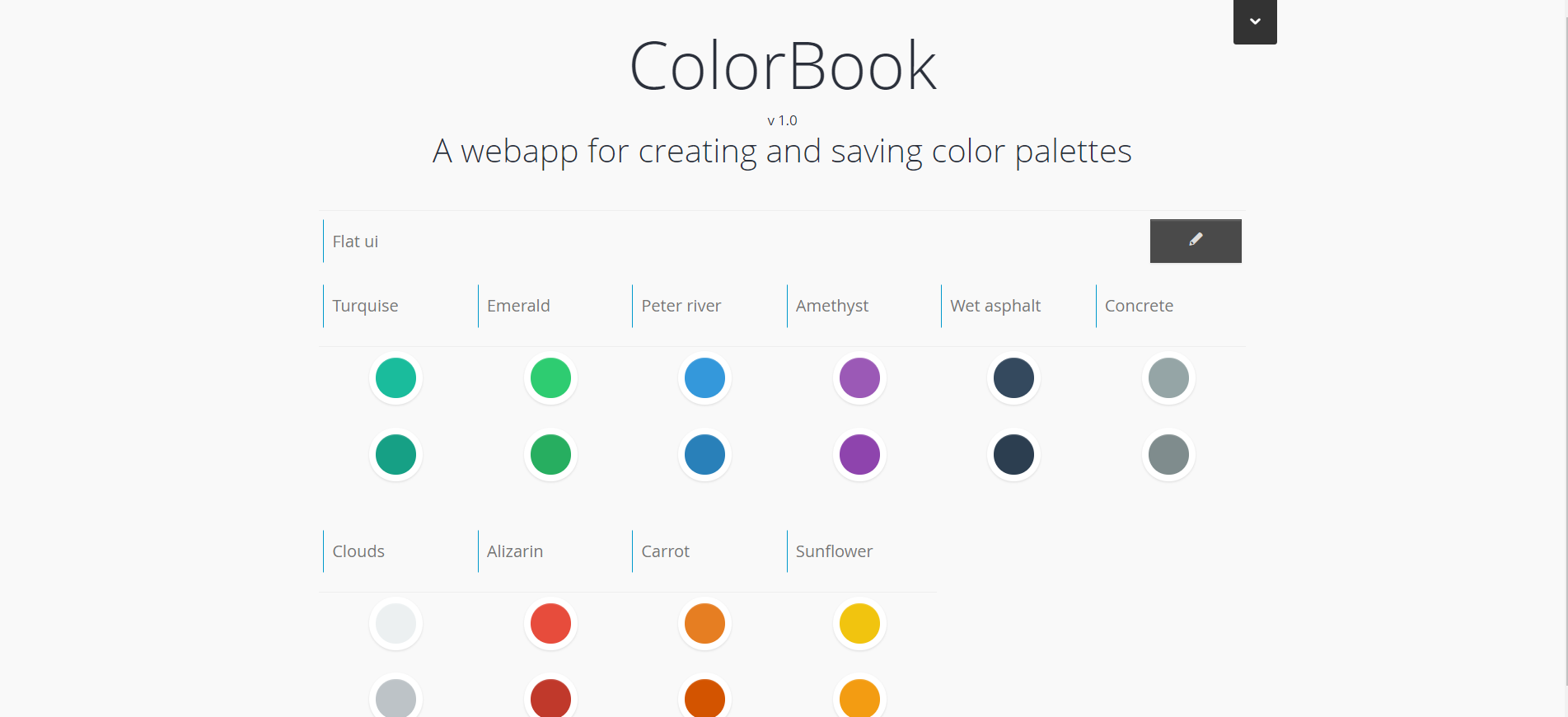 Colorbook homepage
